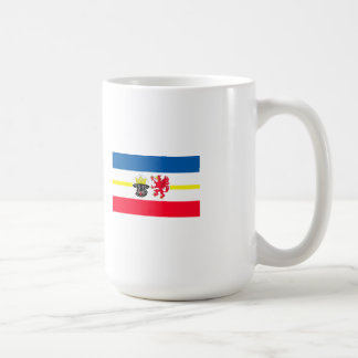Mecklenburg-Western Pomerania flag Classic White Coffee Mug