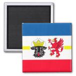 Mecklenburg-Western Pomerania flag Fridge Magnet