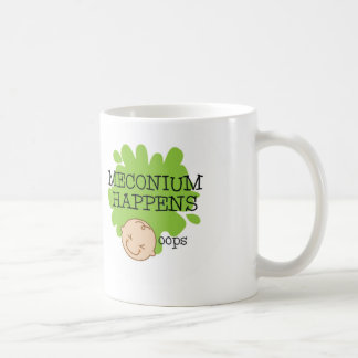 Meconium Happens Coffee Mug