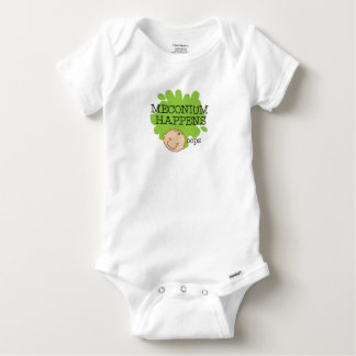 Meconium Happens Funny Baby Shirt