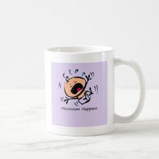Meconium Happens Classic White Coffee Mug