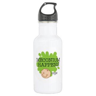 Meconium Happens Water Bottle