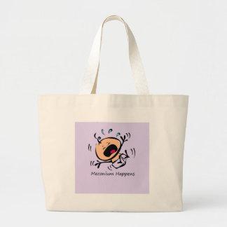 Meconium sucede bolsa de mano
