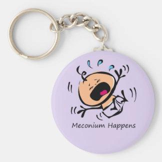 Meconium sucede llaveros