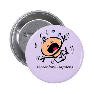 Meconium sucede pin redondo 5 cm