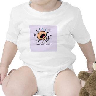 Meconium sucede traje de bebé