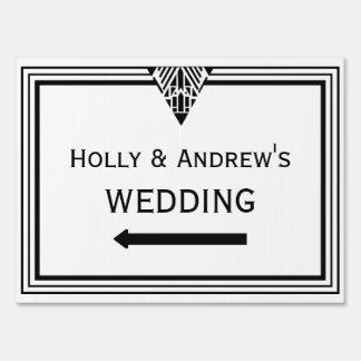 MED blanco de la muestra del boda del marco #1 del