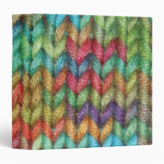 Med. Colorful Binder For the Knitter in Your Life
