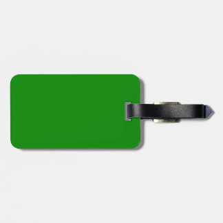 med green DIY custom background template Bag Tag