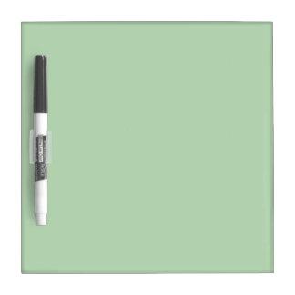 med green DIY custom background template Dry-Erase Board