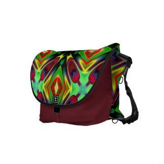 Med. Rickshaw Messenger Bag in multi-color