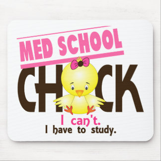 Med School Chick 1 Mouse Pad
