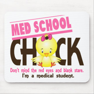 Med School Chick 2 Mouse Pad