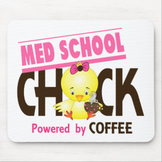 Med School Chick 4 Mouse Pad