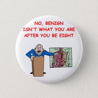 med school joke pinback button