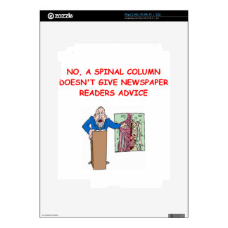 med school joke decals for iPad 2