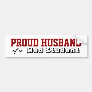 Med School Proud Bumper Sticker
