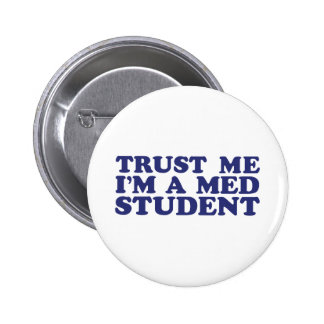 Med Student 2 Inch Round Button