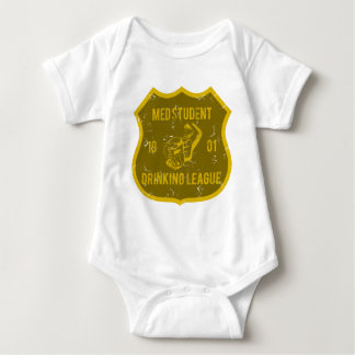 Med Student Drinking League Infant Creeper