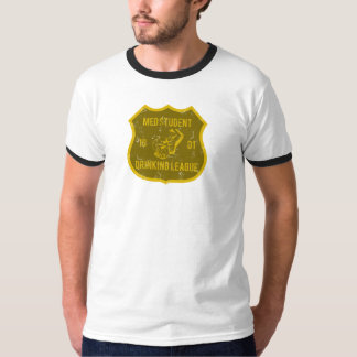 Med Student Drinking League Tshirts