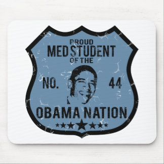 Med Student Obama Nation Mouse Pad
