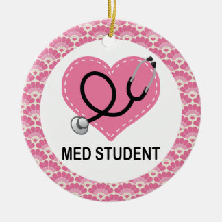 Med Student Pink Gift Ornament