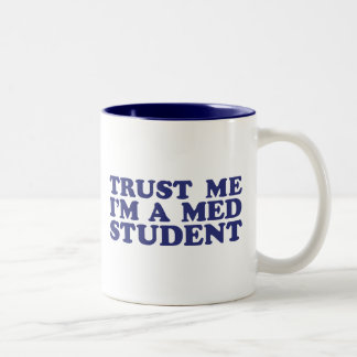 Med Student Two-Tone Coffee Mug