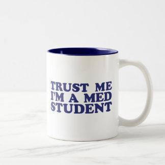 Med Student Two-Tone Coffee Mug