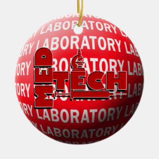 MED TECH LABORATORY CHRISTMAS ORNAMENT