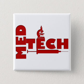 MED TECH MICROSCOPE SYRINGE (MEDICAL TECHNOLOGIST) BUTTON