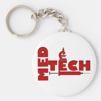 MED TECH MICROSCOPE SYRINGE (MEDICAL TECHNOLOGIST) KEYCHAIN