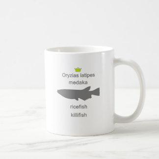 medaka g5 classic white coffee mug