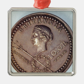 Medal commemorating the British capture of Metal Ornament