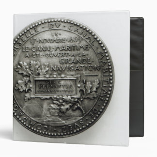 Medal commemorating the opening of the Suez Binder