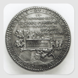 Medal commemorating the opening of the Suez Stickers