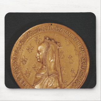 Medal depicting Anne of Brittany Mouse Pad