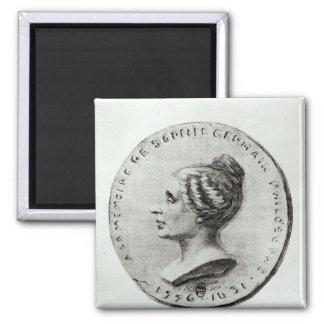Medal depicting Sophie Germain Magnet