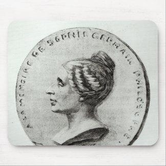 Medal depicting Sophie Germain Mouse Pad