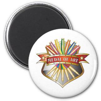 Medal of Art Medal 2 Inch Round Magnet