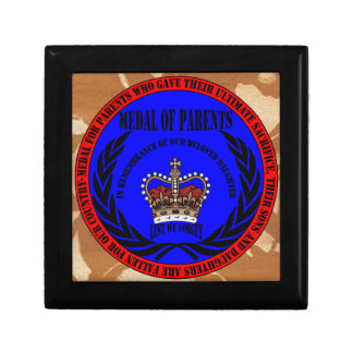 Medal OF PARENTS… fall Daughter Gift Box
