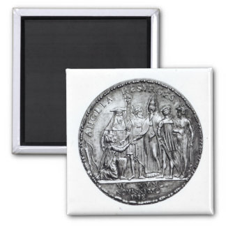Medal struck by Pope Julius III Magnets