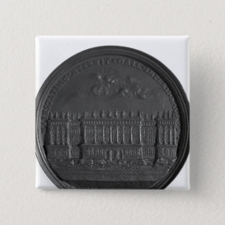 Medal with Bernini's design for the Louvre Pinback Button