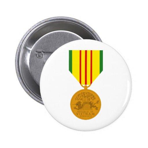 Medalla al servicio de Vietnam Pin