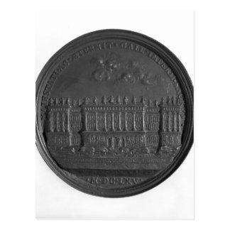 Medalla con el diseño de Bernini para el Louvre Postales