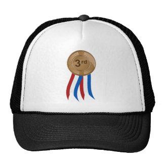 Medalla de bronce gorras