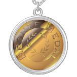 Medalla de bronce pendiente