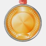 Medalla de honor del oro adorno de reyes