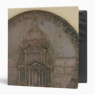"""Medalla de la fundación de la Val-de-Tolerancia Carpeta 1 1/2"""""""