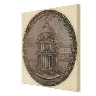 Medalla de la fundación de la Val-de-Tolerancia Impresiones De Lienzo
