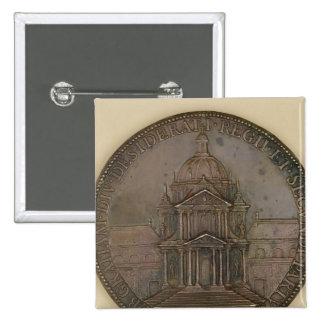 Medalla de la fundación de la Val-de-Tolerancia Pin Cuadrado